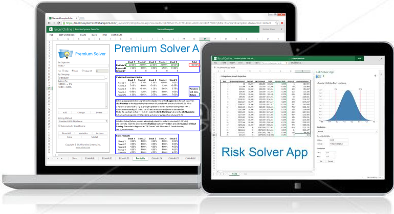 What's New: Analytics Apps for Excel Online | solver