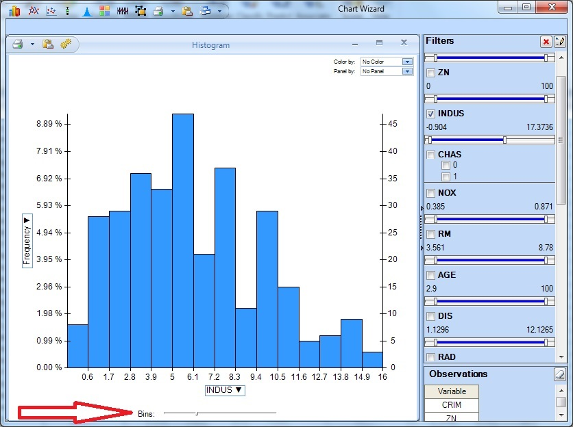 Histogram Example | solver