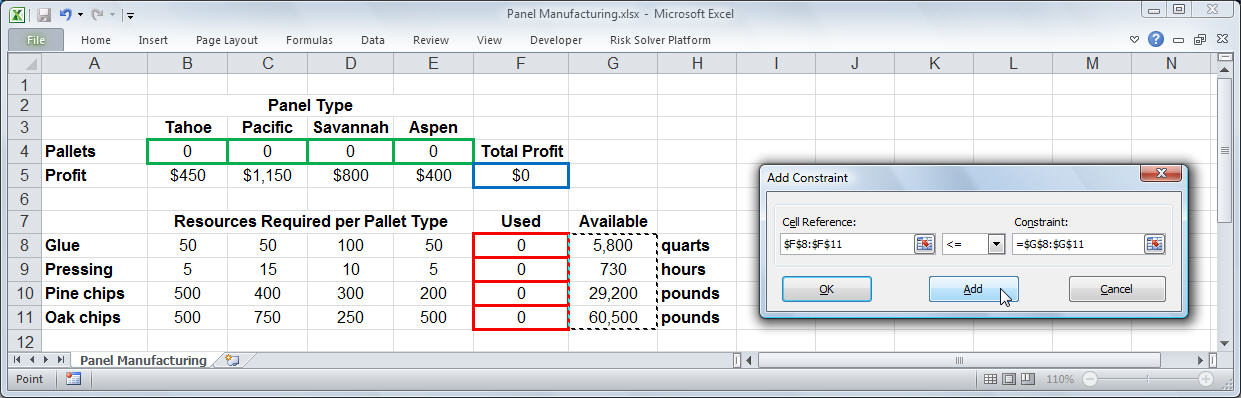 Excel Solver Tutorial - Step by Step Easy to use guide for Excel's