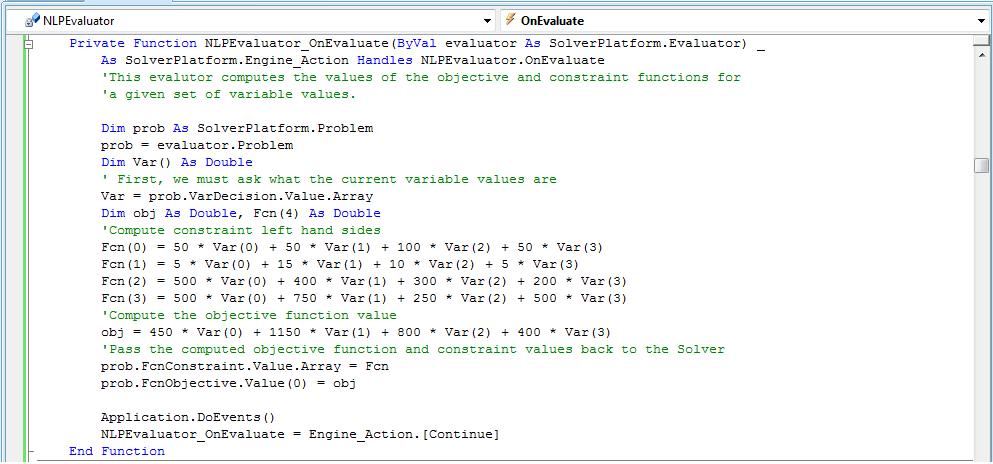 Solver Tutorial - Step by Step Product Mix Example in Visual Basic ...